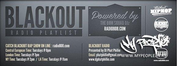 Blackout Rap Show