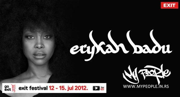 Erykah Badu @ EXIT Festival