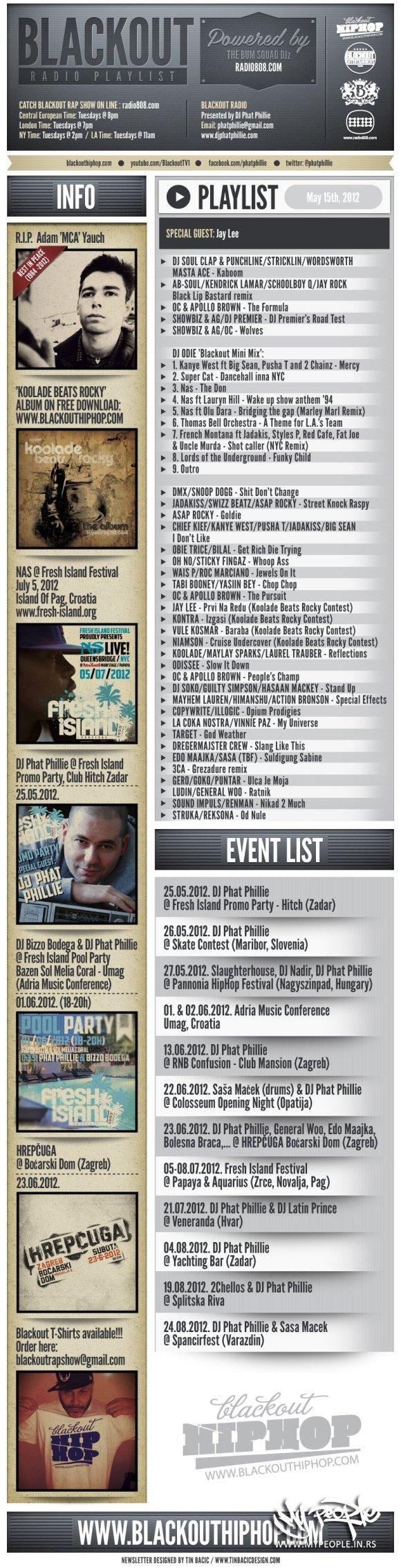Blackout Rap Show 15.05.2012.