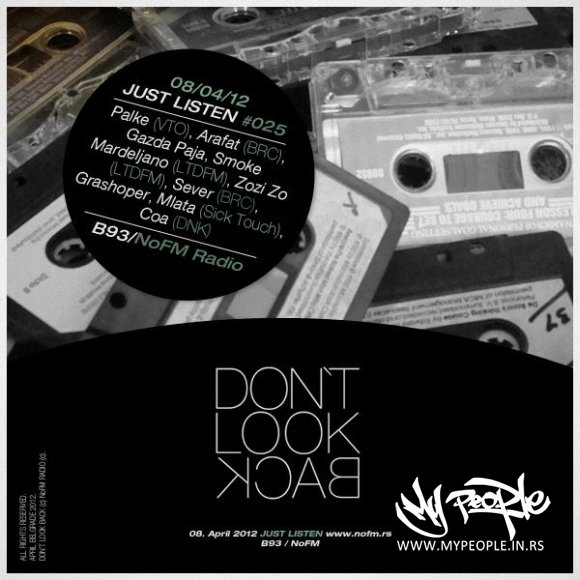 Don't Look Back - 1. srpski fristajl EP