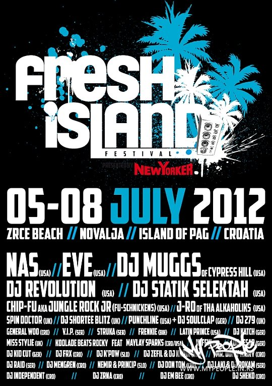 Fresh Island Festival Full Line-Up