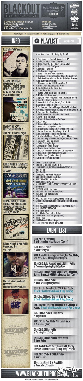 Blackout Rap Show 05.06.2012.