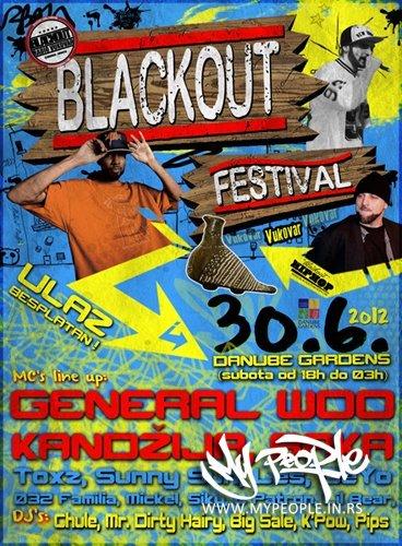 Blackout Festival 2012 @ Danube Gardens (Vukovar)