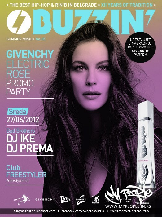Buzzin' Givenchy Promo Party @ Freestyler (Beograd)