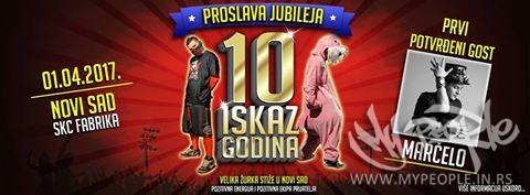 Iskaz - 10 godina benda TOUR @ Fabrika (Novi Sad)
