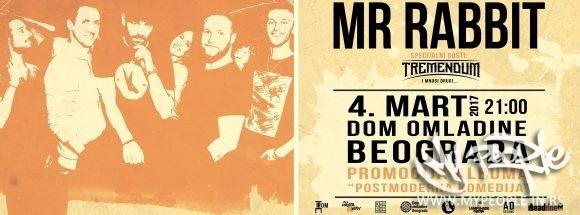 Mr Rabbit feat Tremendum LIVE @ Dom Omladine Beograd