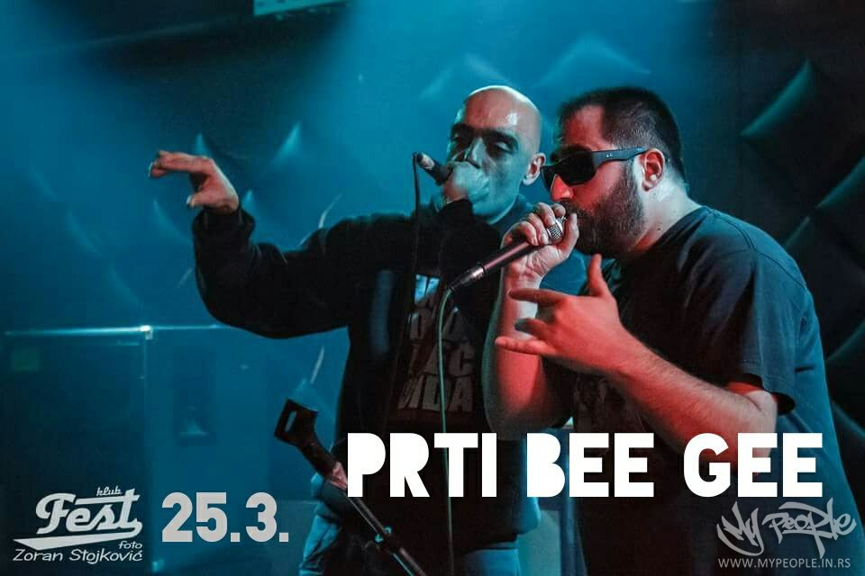 Prti Bee Gee at Fest @ Klub Fest