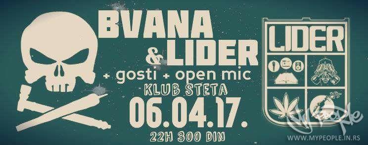 Bvana i Lider @ Šteta