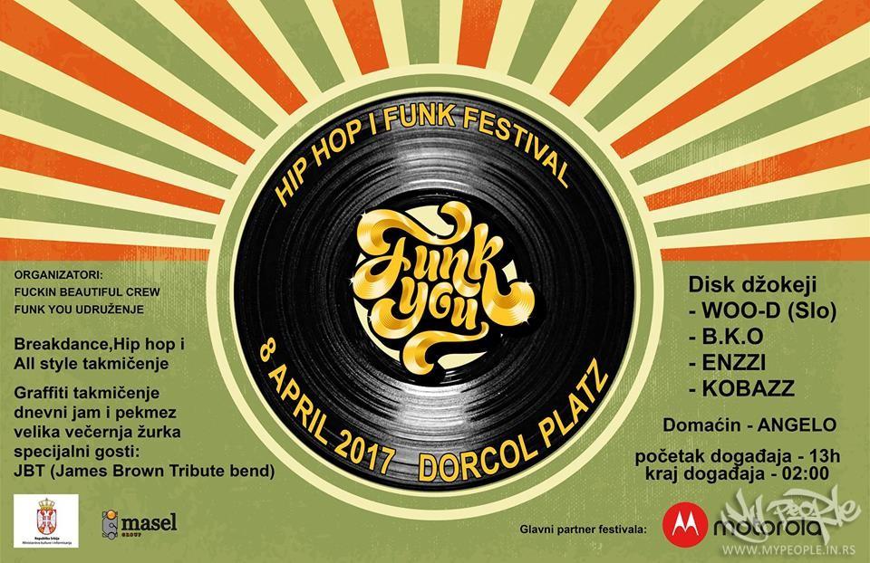 FUNK You Festival VOL.1 @ Dorćol Platz
