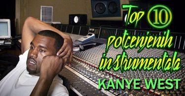top 10 potcenjenih instrumentala - kanye west