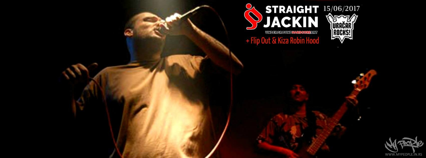 Straight Jackin +Flip Out & Voke @ Božidarac
