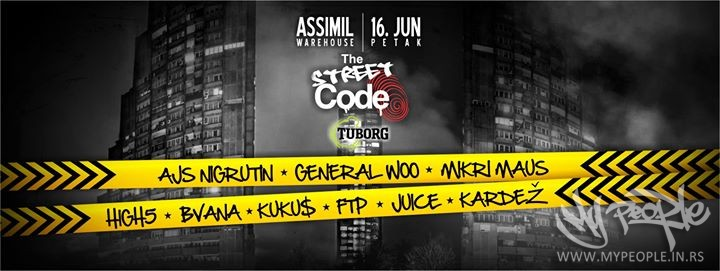 The Street Code Project Vol.02 @ Assimil Warehouse
