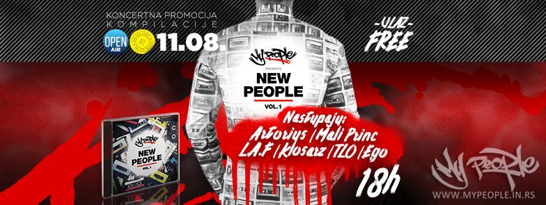 My People Koncertna promocija kompilacije: New People Vol. 1 @ KPTM