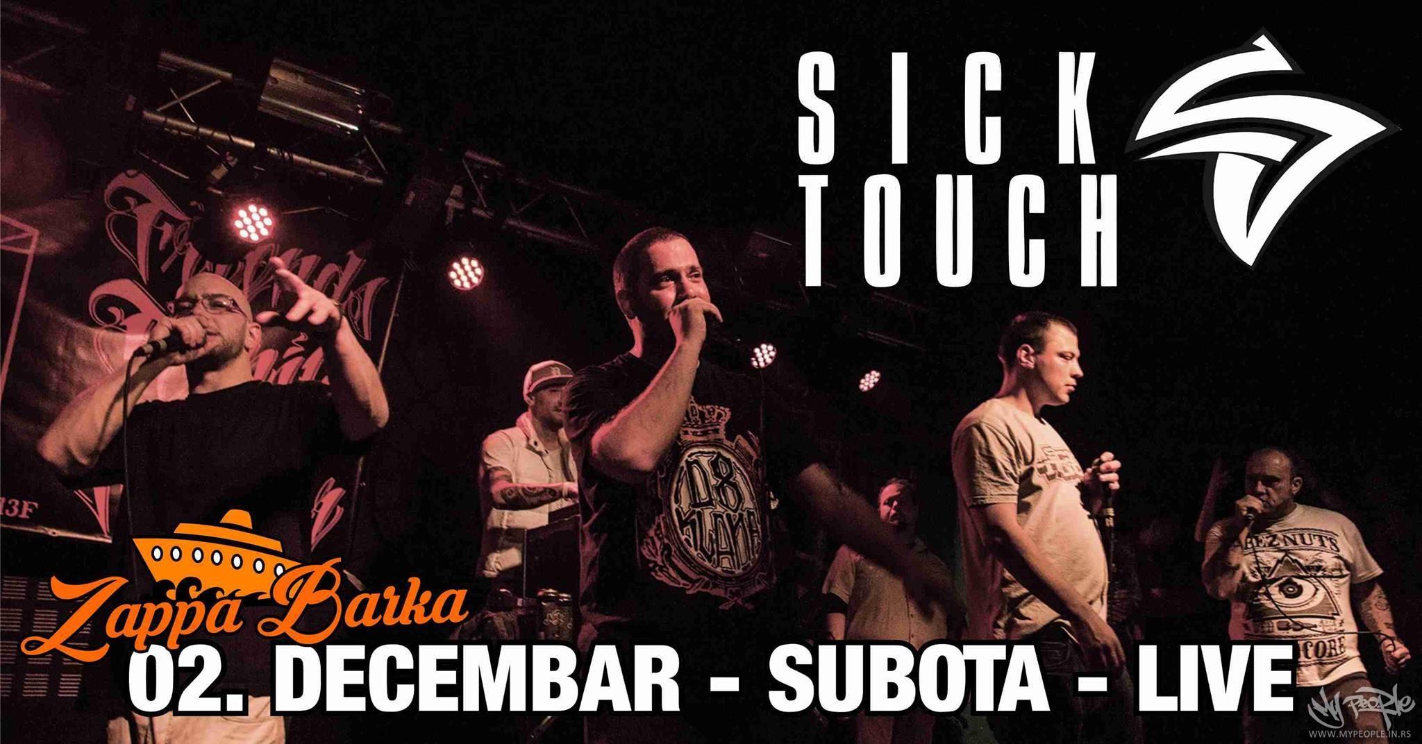 Sick Touch - LIVE @ Zappa Barka