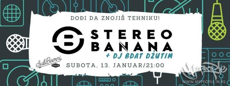 Stereo Banana u Beogradu @ SubBeerni Centar