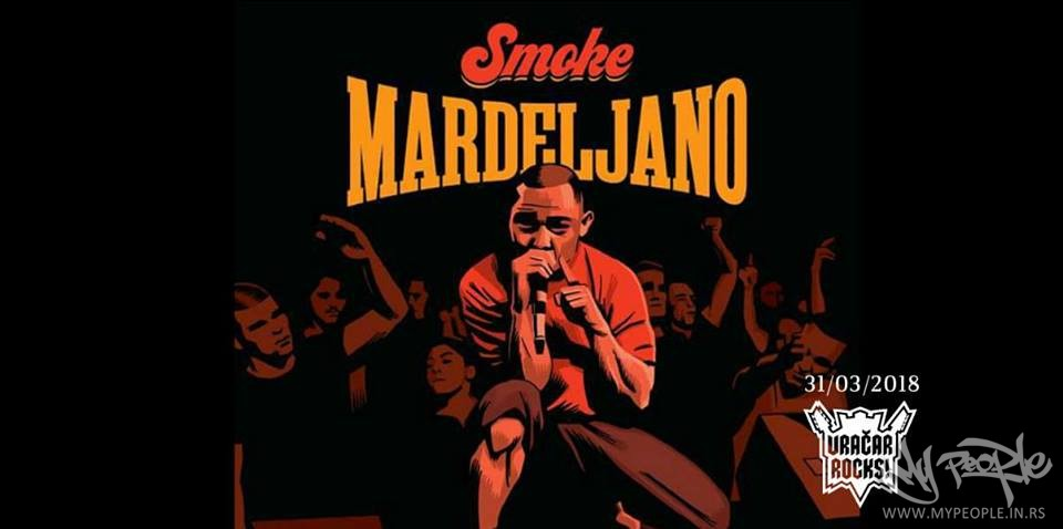 Smoke Mardeljano LIVE @ Božidarac