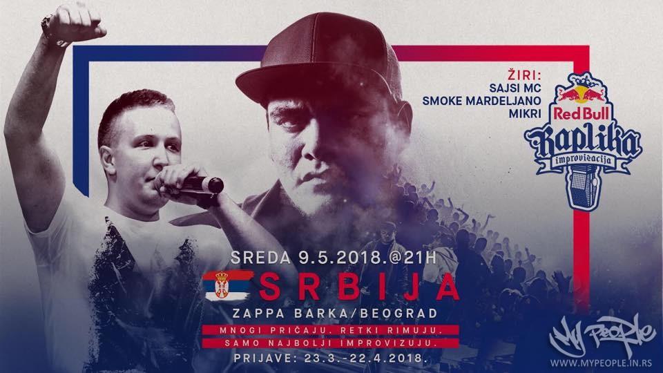 Red Bull Raplika Srbija @ Zappa Barka