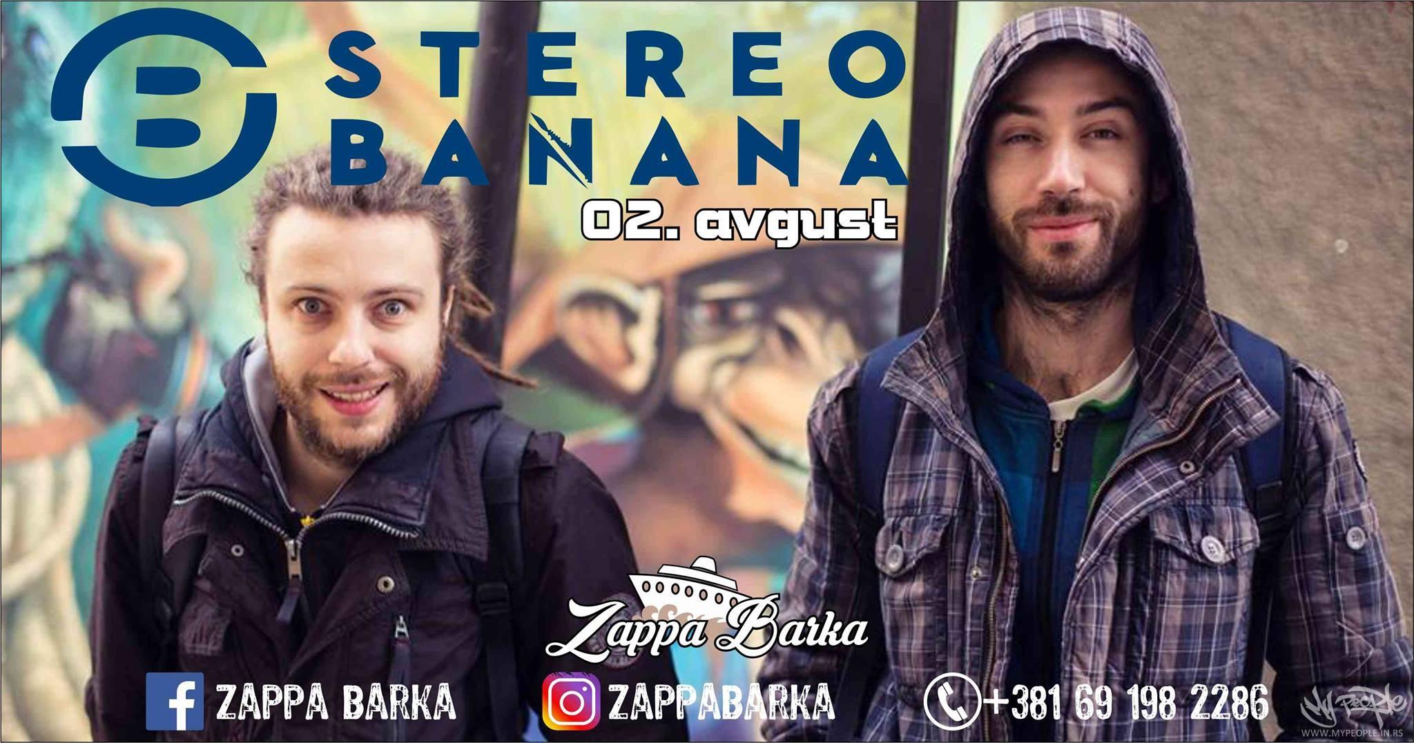 Stereo Banana LIVE @ Zappa Barka